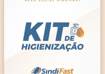 Ação Social SindiFast: Kit de Higienização