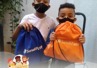Entrega dos Kits do Dia das Crianças