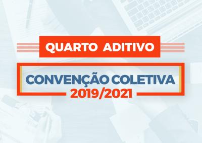4º Termo Aditivo à Convenção Coletiva de Trabalho 2019/2021
