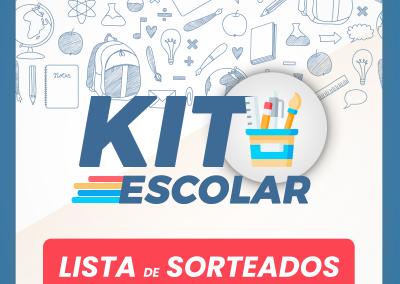 Lista de sorteados – Kit Escolar SindiFast