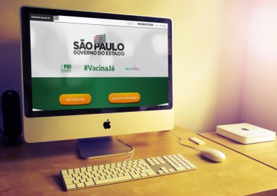 """Pré-cadastro no site """"Vacina Já"""" economiza 90% no tempo de atendimento para imunização"""