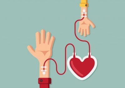 Pró-Sangue incentiva doação de sangue antes da vacinação contra a gripe